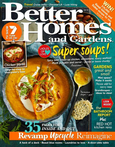 Better Homes and Gardens Australia - June 2016