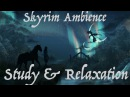Skyrim Ambience Study Relaxation Music 3 hours