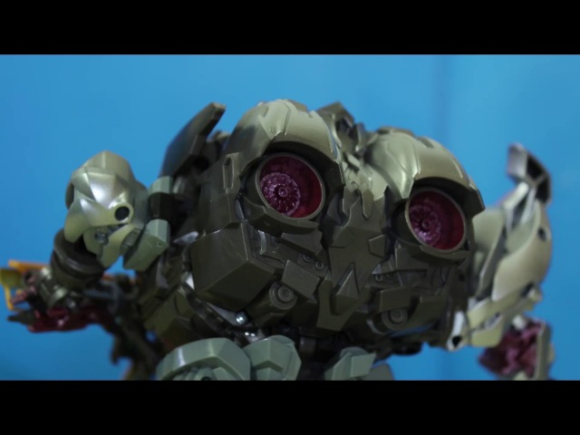 Transformers Stop Motion Bumblebee VS Vehicon And Megatron