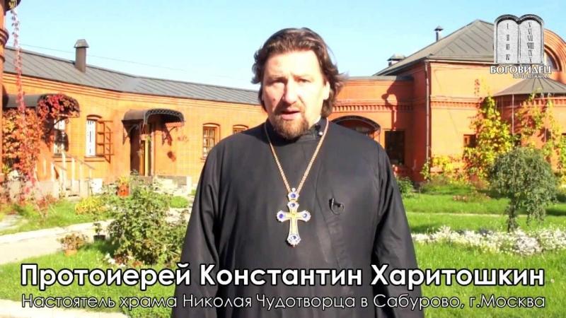 Протоиерей Константин Харитошкин о проекте