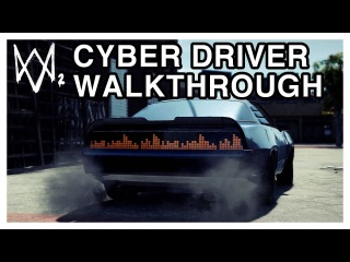 Watch Dogs 2 Walkthrough - Cyber Driver Full Mission Gameplay [PS4 1080p60FPS]