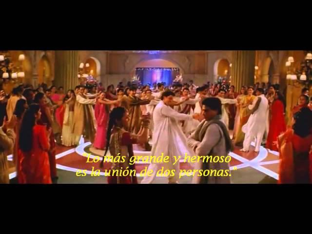 Клип из индийского фильма И в радости и в печали
