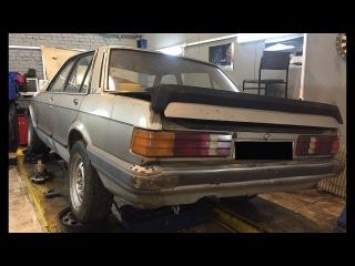 Triada Service. Ford Granada 1979. Как за минимальные вложения создать машину мечты Часть 1