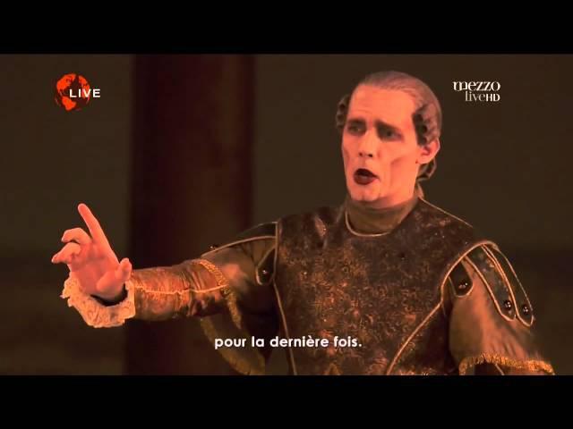 Récit Air de Thésée Acte III Stéphane Degout Hippolyte et Aricie J P Rameau