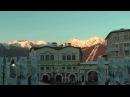 Подъем на фуникулере в отель Горки Гранд на высоту 960 м Курорты России на Черном море