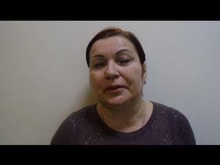 Видео-отзыв для Григория