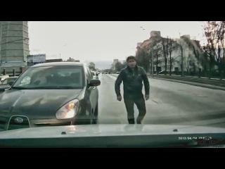 Учим хамов ездить по своей полосе #2  | Stupid, Bad and Crazy Drivers. #2
