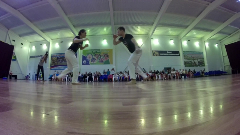 Cintura Desprezada de Mestre Bimba Flores do Sul 2017