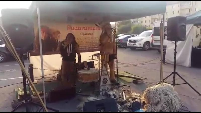 Индейцы поют в Астане в честь Дня знаний
