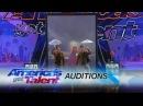 Tony and Jordan Identical Twins Dazzle With Magic America's Got Talent 2017