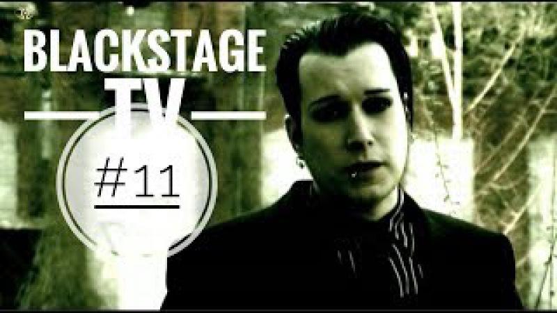 Blutengel Chris Pohl moderiert Blackstage TV 11 2007 📵❌