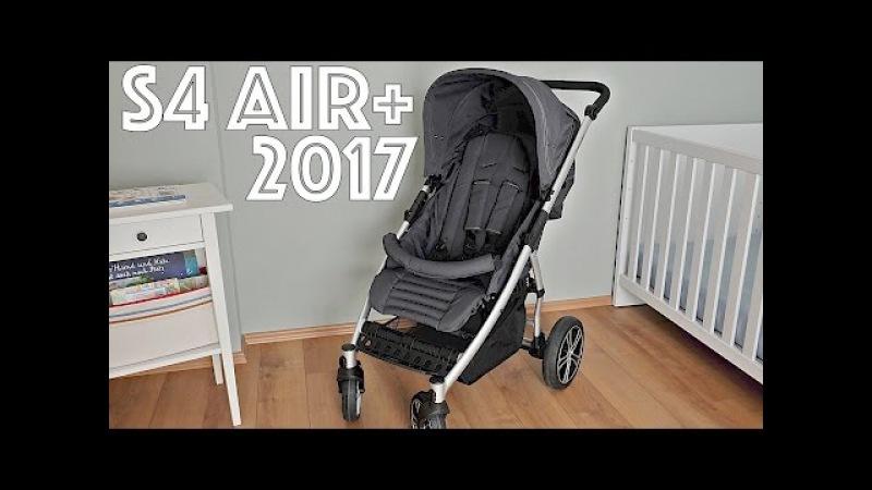 Gesslein Buggy S4 AIR Plus 2017 - Kurzvorstellung Test! Kinderwagen