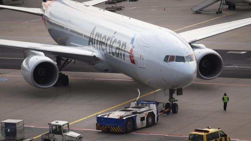 American Airlines Boeing 777-200ER Frankfurt