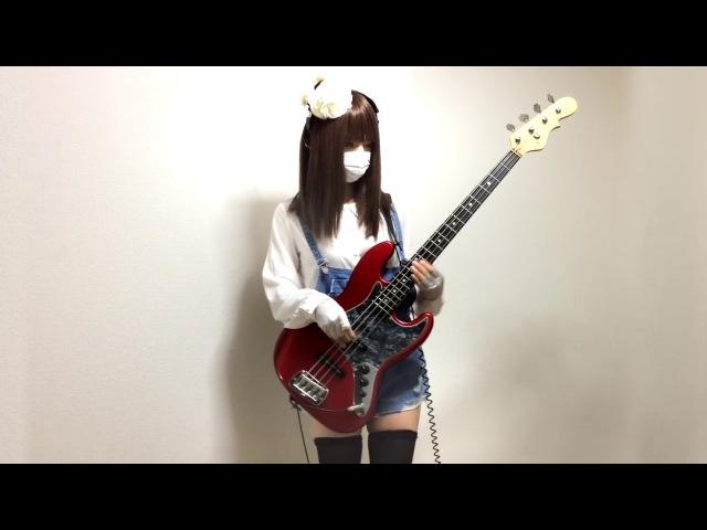 はるちん ティアドロップスのベース弾いてみた bass cover BanG Dream HD