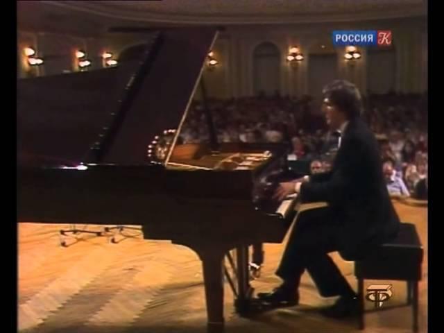 Boris Berezovsky plays Balakirev Islamey video 1990