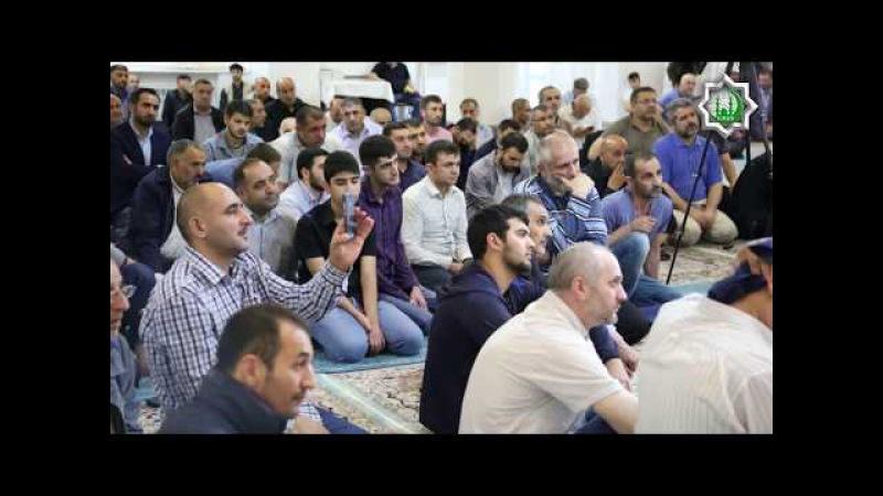 İmam Sadiq ə şəhadət məclisi Moskva Əhli Beyt İslam Cəmiyyəti 2017