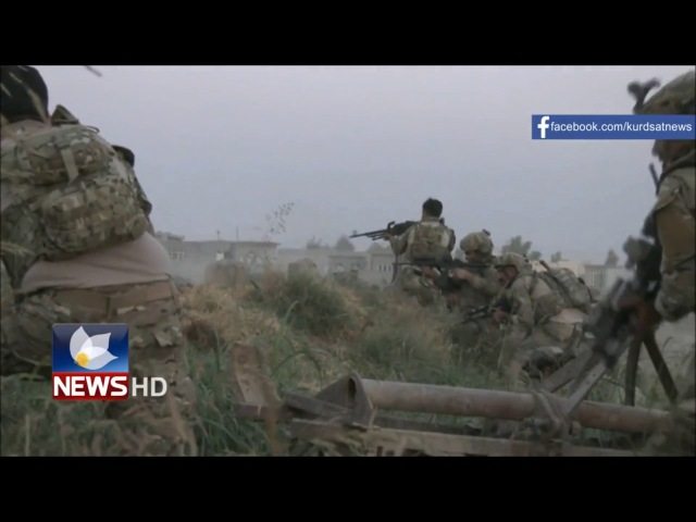 US Kurdish Special Forces Firefight in Kirkuk 2016 Mosul Offensive