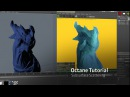 Quickly Set up SSS (Subsurface Scattering) in Octane for Cinema 4D