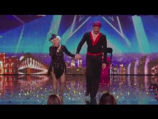 Spectacular Salsa - Paddy & Nico - Electric Ballroom _ Britain's Got Talent 2014.