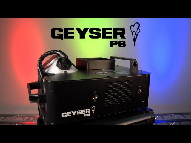 Geyser P6 by CHAUVET DJ