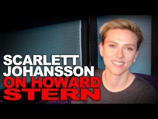 Scarlett Johansson on Howard Stern 03/27/2017