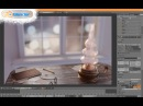 Blender Timelapse Old Style Oil Lamp from start to finish