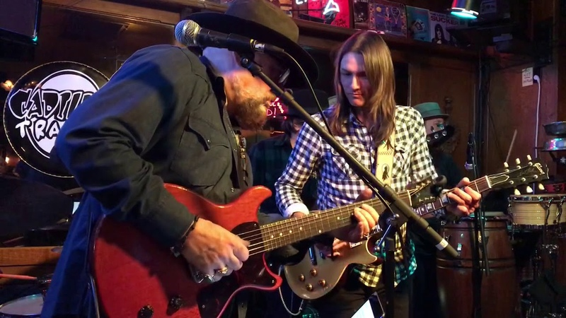 Jimmy Vivino with Duane Betts. March 2018.