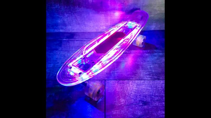 Super Пенні з LED підсвіткою та Bluetooth динаміками
