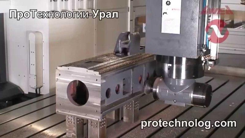 Портальный фрезерный станок AWEA серии LP. ПроТехнологии-Урал