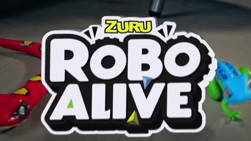 Robo Alive. Самые реалистичные ящерицы и змеи!