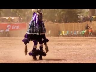 Afro dance !!  Vini Vici - Universe Inside. Tribu Zaouli. Costa de Marfil