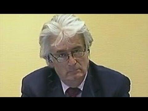 How Much Water Has Karadzic Drank