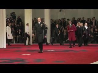 Tim Roth,Willem Dafoe,Adrien Brody,Gary Oldman - Prada Fall_Winter 2012 Menswear Show, Milan 2012