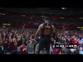 LeBron James Hits INSANE Game-Winning Buzzer Beater VS Pacers!- Game 5!