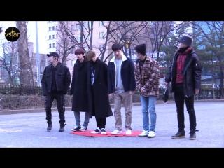 [RAW|VK][] MONSTA X arrive at Music Bank @ Vstar