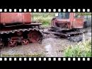 Тракторы Т 40 ДТ 75 К 700 и др на бездорожье На трактор надейся а сам не плошай Подборка