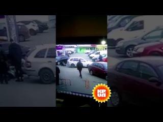 Появилось видео, как Вера Савченко сбила женщину