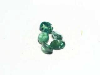 Natural Alexandrite  0,99 карата 5 шт  4 x 3мм Зелёно Красный Unheated