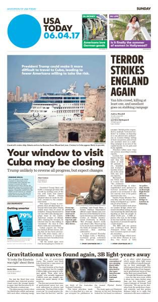 USA Today June 4 2017 FreeMags