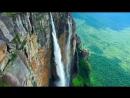 Самый высокий в мире водопад Анхель в Венесуэле съемка с дрона_2