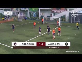 Спортинг-лига I Chep-Chelius – Алмаз-Антей - 4-10