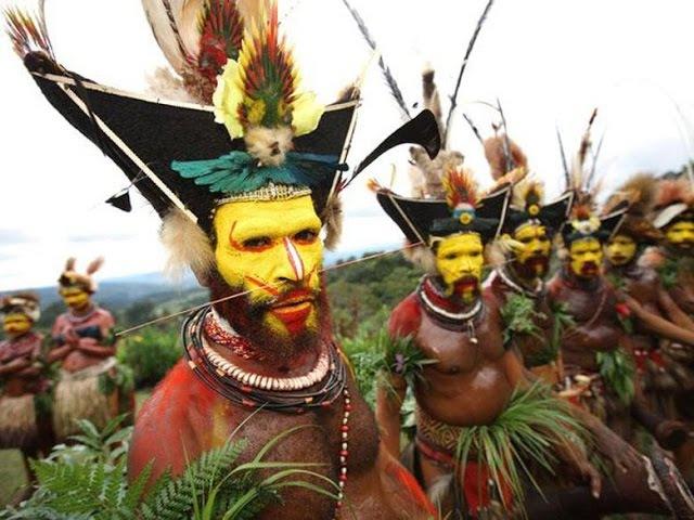 Дикие племена современного Мира Последние первобытные племена планеты Земля
