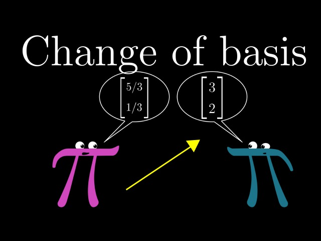 Change of basis | Essence of linear algebra, chapter 13