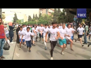 В Хомсе провели марафон в честь возвращения города под контроль правительственны