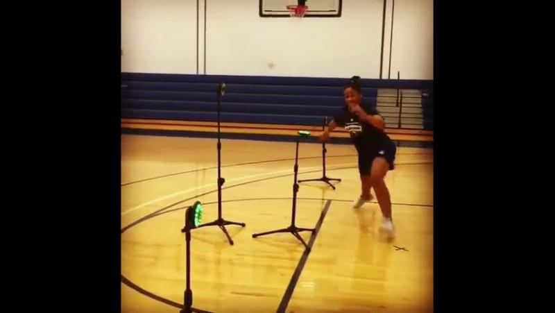 Тренировки и тестирование в баскетболе с Fitlight Trainer