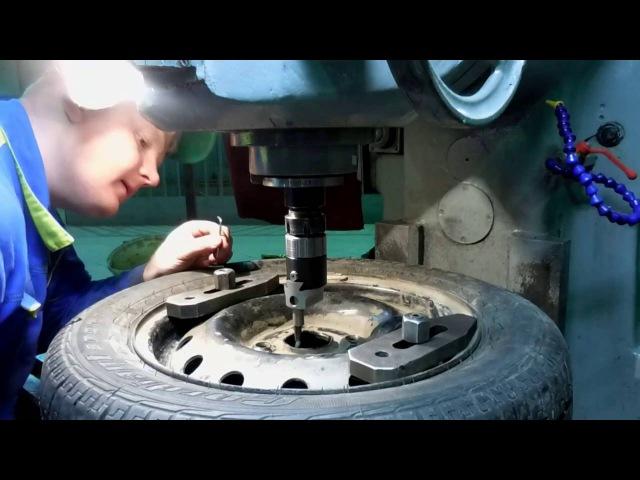 Как расточить колесные диски Фрезеровка расточной головкой