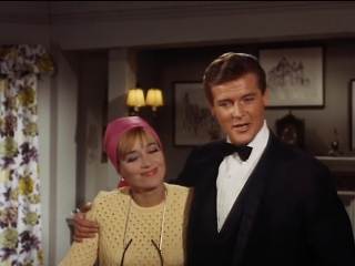 The Saint S5 E8-9 'The Fiction Makers' (1968)  Roger Moore,  Sylvia Syms,  Justine Lord