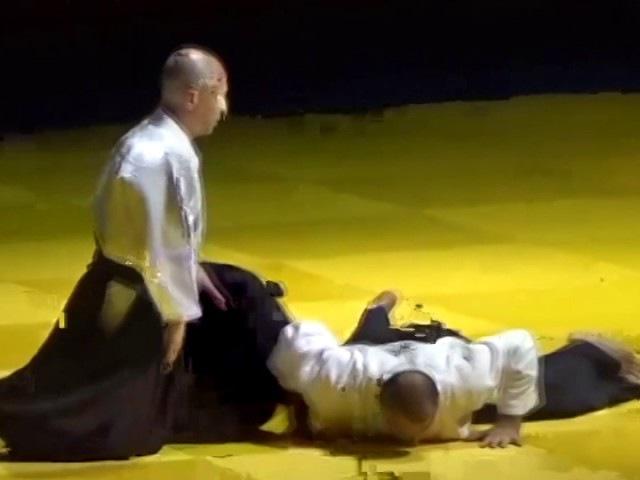 Показательные выступления Кириенко Сергеея Владиленовича на Фестивале Айкидо ...