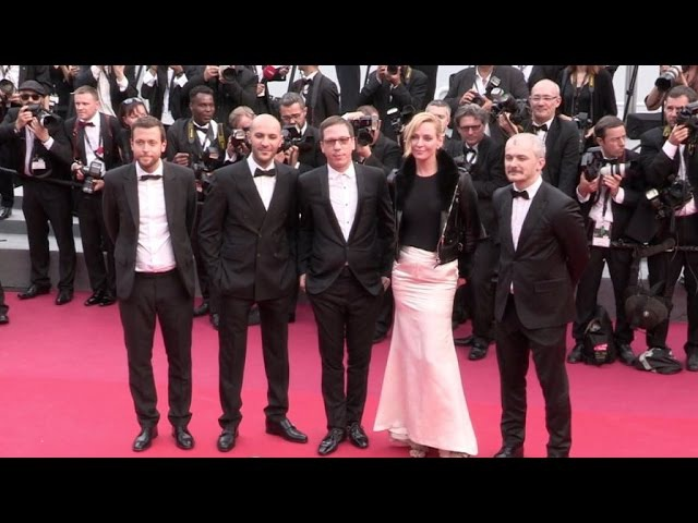 Uma Thurman Michelle Yeoh and more on the red carpet for the Premiere of Nelyubov in Cannes
