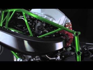 The 2015 Kawasaki Ninja H2R - Official Video Introduction